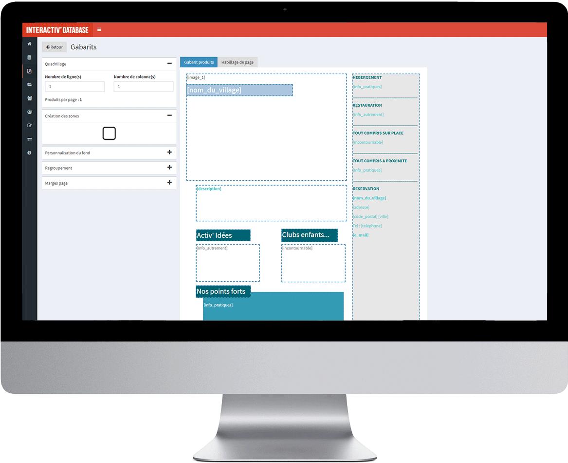 PIM DAM Interactiv' Preview et Interactiv' DataBase