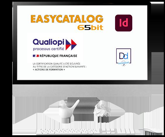 formations PAO EasyCatalog certifiées