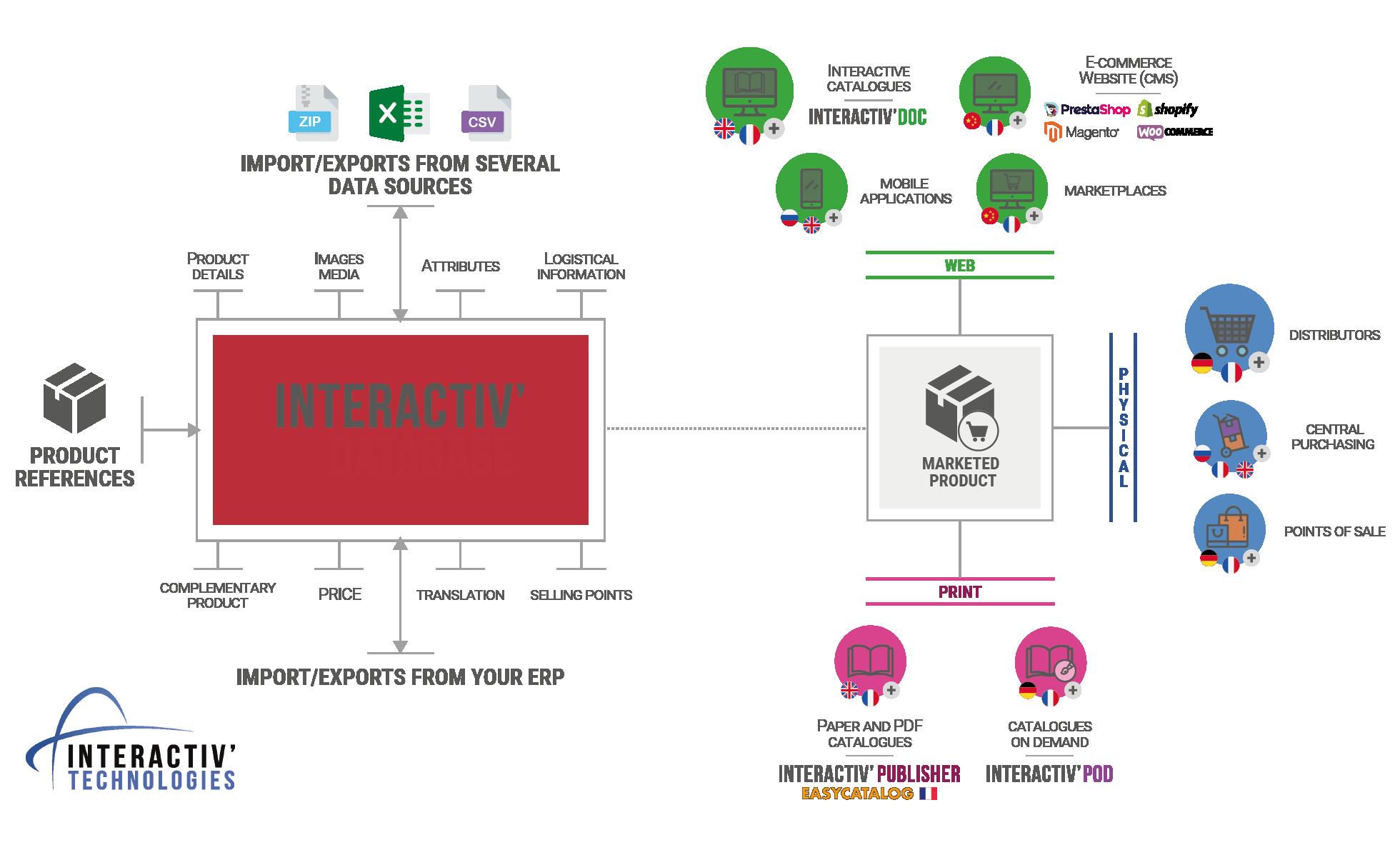 Database visual explanation