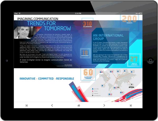 Créez votre catalogue interactif pour tablettes et iPad