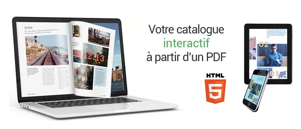 Outil de création de catalogues interactifs